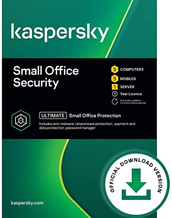 KASPERSKY SMALL OFFICE SECURITY 8.0  5 POSTES+1 SERVEUR